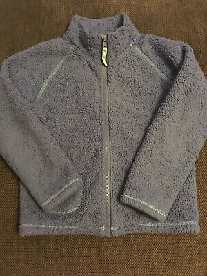 Mini Boden Girls Light Blue Fleece Jacket Age 9-10 Years VGC