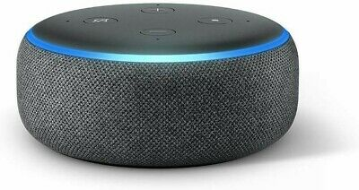 Amazon Echo Dot (3rd Gen) Smart Voice Control Assistant - Charcoal New Sealed