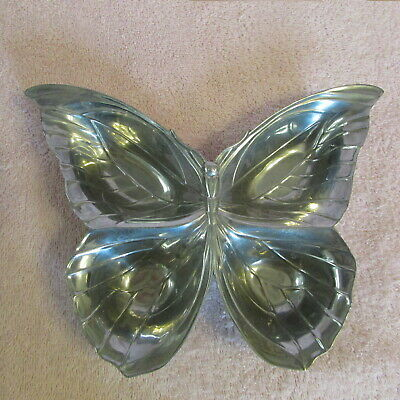 Fitz & Floyd Silver Butterfly Serving Dish Nuts, Candy, Mints...