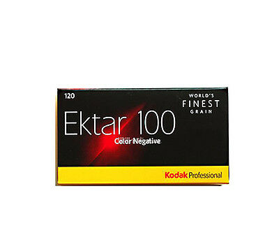 5 Rolls Kodak Professional Ektar 100 120 Color Negative  Film Fresh 2021