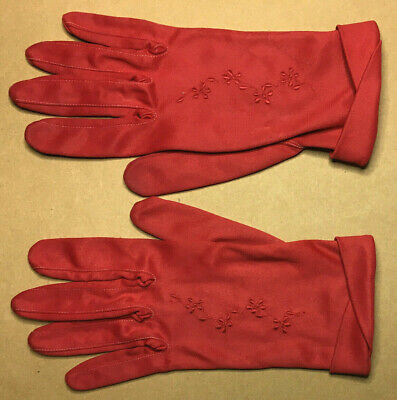 Vintage Ladies GLOVES Size M 1950's GOOD #1
