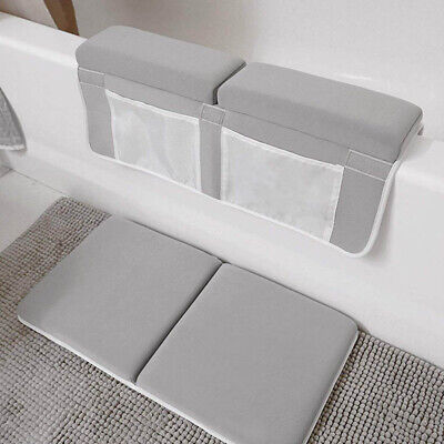 Support Washable Non Slip Bath Kneeler Elbow Rest Baby Mat Pad Strength Suction