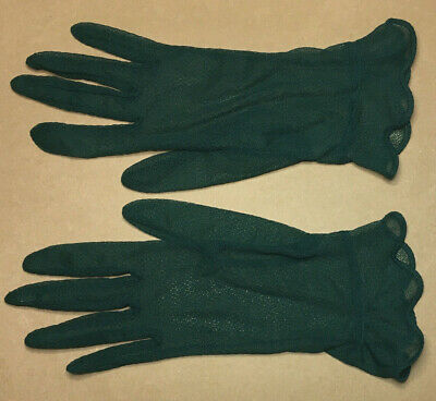 Vintage Ladies GLOVES Size S-M 1960's VG-EXC #9