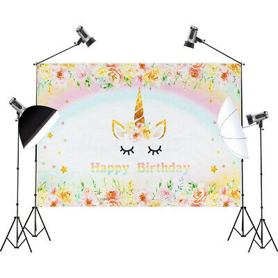 Photography Backdrop Photo Background Studio Props Birthday Decor 3X5FT/5X7FT AU