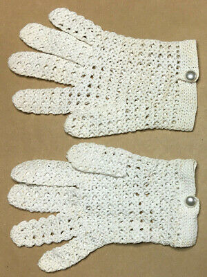 Vintage Ladies GLOVES Size M 1950's GOOD #12