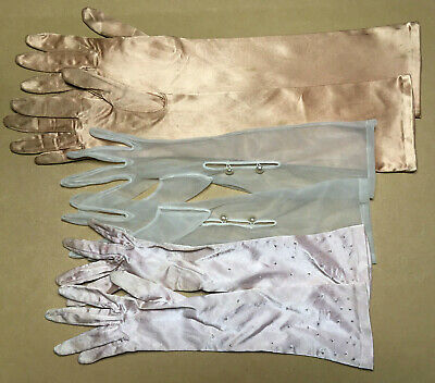 Vintage Ladies GLOVES Size S-M **TLC LOT** 1950-60's #14