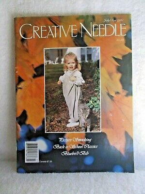 Vintage Creative Needle Magazine - July/Aug. 1997 - Volume 13, Number 4