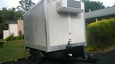 Mobile / Portable Cool Room Trailer- Walk in Food Fridge Multi Use -4deg