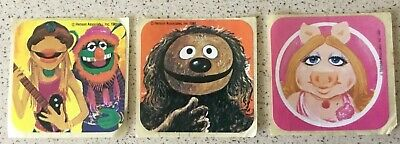 "3 ""Muppets"" Stickers"