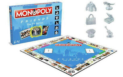 F.R.I.E.N.D.S Monopoly OFFICIAL Family Fun HASBRO Board Game Christmas Friends