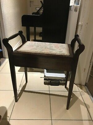 Victorian/Edwardian Piano Music/ Dressing Table Stool