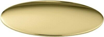 KOHLER K-8830-PB Sink Hole Cover, Vibrant Polished Brass