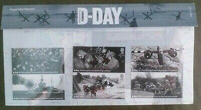 GB 2019 D-Day 75th Anniversary Normandy Landings Stamp Presentation Pack 572