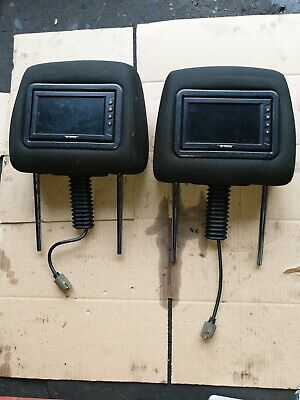 Toyota Corolla Verso 5Dr Both Headrest With Monitor Screen Tv