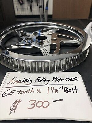 Harley  Pulley 65 Tooth 1 1/8 Belt PRO-ONE