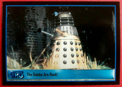 DR WHO DEFINITIVE COLLECTION SERIES TWO - MASSIVE BASE SET (120 cards) - 2001
