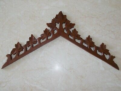 Newly Carved Cuckoo Clock Crown Topper...Spares