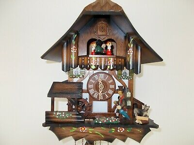 Clockseller Musical Cuckoo Clock...with lots happening!