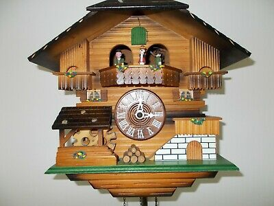 Hubert Herr Musical Chalet Cuckoo Clock