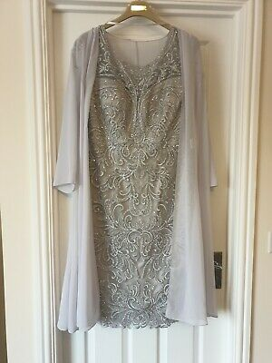 Size 14 MOTHER OF THE BRIDE Ronald Joyce Venti Infantino & Nigel Rayment Hat