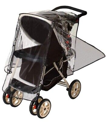 Jeep Deluxe Stroller Weather Shield Baby Rain Cover Universal Waterproof NEW
