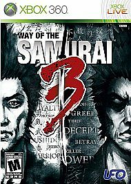 Way of the Samurai 3 (Microsoft Xbox 360, 2009)