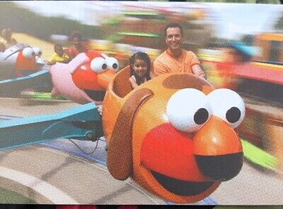 Sesame Place Tickets Any Day Until 8/1/20 Sunndy Day - Single Day