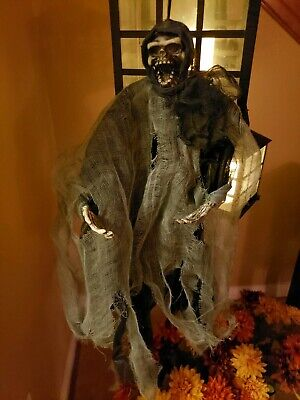 Halloween Decorations Scary Hanging Skeleton Ghosts Horror Outdoor Yard Decor