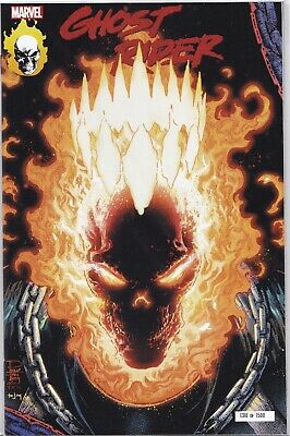 Ghost Rider #1 Nycc 2019 Glow In The Dark Exclusive Nm