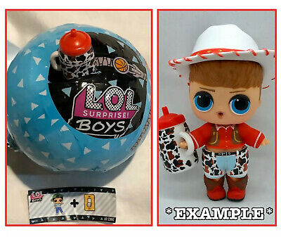 LOL Surprise Do Si Dude Doll NEW BOYS Series 1 Ball MGA Toy Cowboy Do-Si-Dude