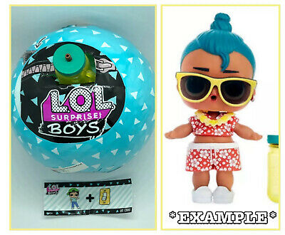 LOL Surprise LUAU🌺Doll NEW BOYS Series 1 Ball MGA Toy Opened To Bottle