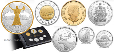Canada 150th Anniversary of Canadian Confederation Pure Silver Proof Set 2017