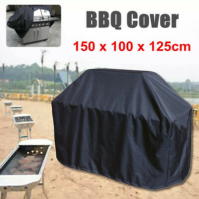 BBQ Cover Burner Waterproof Outdoor Protector Gas Charcoal Barbecue Grill UV