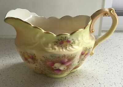 W & B - Stoke-On-Trent-Wiltshire & Robinson Carlton China Jug England