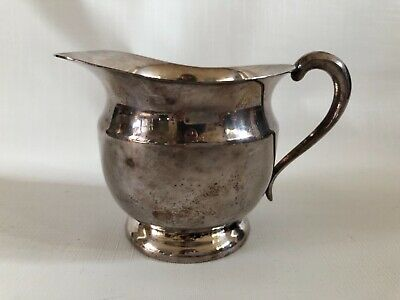 Silverplated Small Pitcher Creamer Wallingford Vintage