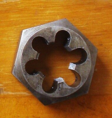 M16 X 2,  HSS Hex Parallel Die Nut, GOLIATH England