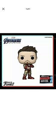 Funko Pop Iron Man Guantlet NYCC SHARED Exclusive Confirmed In Hand