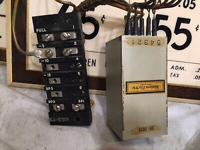 Western Electric KS-10108 /SR-1015 Output Speaker Level Transformer Vintage 1942