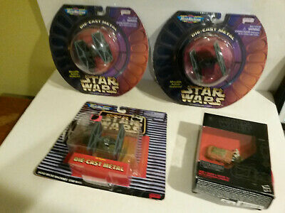 Micro Machines Star Wars NOS Galoob Tie Fighter 1996 1997 Rey Speeder 2015 lot 4