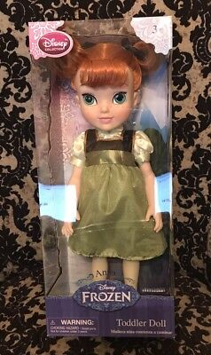 """Disney Frozen Toddler Girls 3+ Anna Doll 16.5"""" New In Box holidays gifts"""