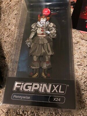NYCC 2019 FiGPiN XL IT Chapter 2 Pennywise X24 - LE 750 I Love Derry Limited Ed