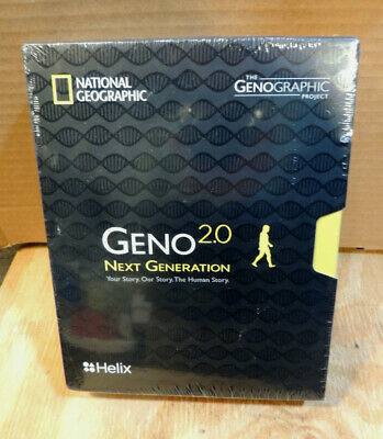 National Geographic DNA Test Kit: Geno 2.0 Next Generation- Powered by Helix
