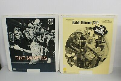 Lot of 2 THE MISFITS CED  1961 MARILYN MONROE