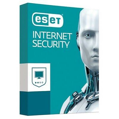 ESET INTERNET SECURITY Ver. 12 -- 1 PC + DI 1 ANNO