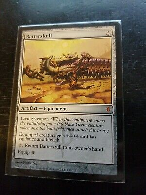MTG 1x Batterskull NM New Phyrexia Mythic Rare Magic the Gathering Equipment