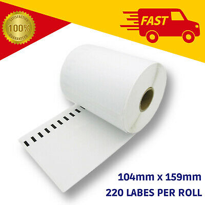 Dymo 4XL Compatible Shipping Thermal Label Roll SD0904980 - 220 labels 104x159mm