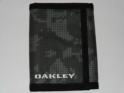 Oakley Trifold Wallet jet black - 01K rare collector special