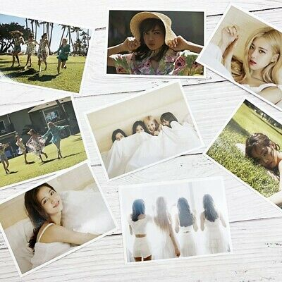 8 Pcs BLACKPINK'S 2019 SUMMER DIARY IN HAWAII Photocards Poster Lomo #stb