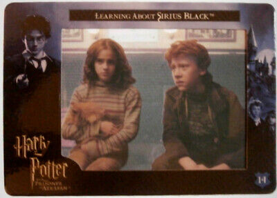 HARRY POTTER - PRISONER OF AZKABAN - COMPLETE BASE SET of 72 cards FILMCARDZ