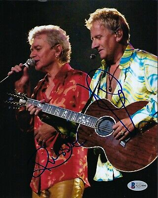 Air Supply signed 8x10 photograph BAS Authenticated Music Legends